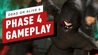 Dead or Alive 6 - Phase 4 vs Diego Gameplay