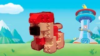 Маршал из мультика Щенячий патруль из Лего Дупло Lego Duplo