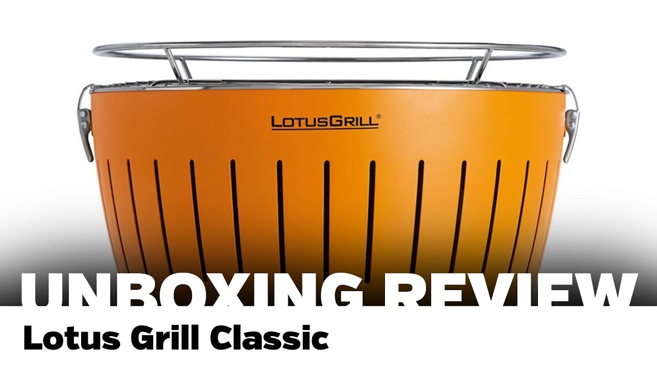 Review: Lotusgrill G340, compact en zonder rook Just for