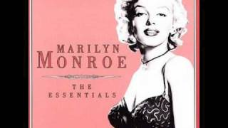 Marilyn Monroe-When Love Goes Wrong, Nothing Goes Right