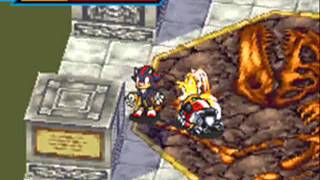 OmegaRadiost Gameplay - Sonic Battle (Library Rumble) 30 KO Match