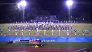 November 12th 2010 Marching Band Part 1.
