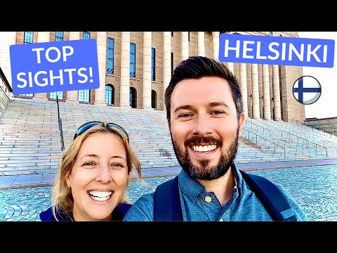 TOP SIGHTS of HELSINKI FINLAND - Walking Tour of The City!