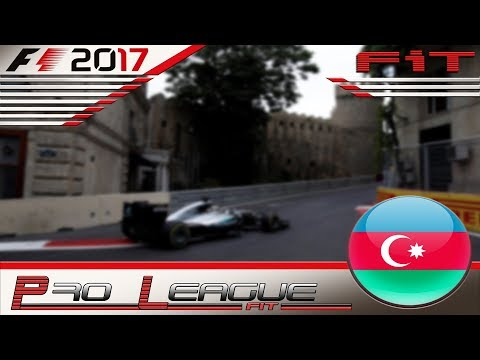 Pro League F1 2017 #08 GP Azerbaijan Baku 05.12.17 - Live Streaming 1080p