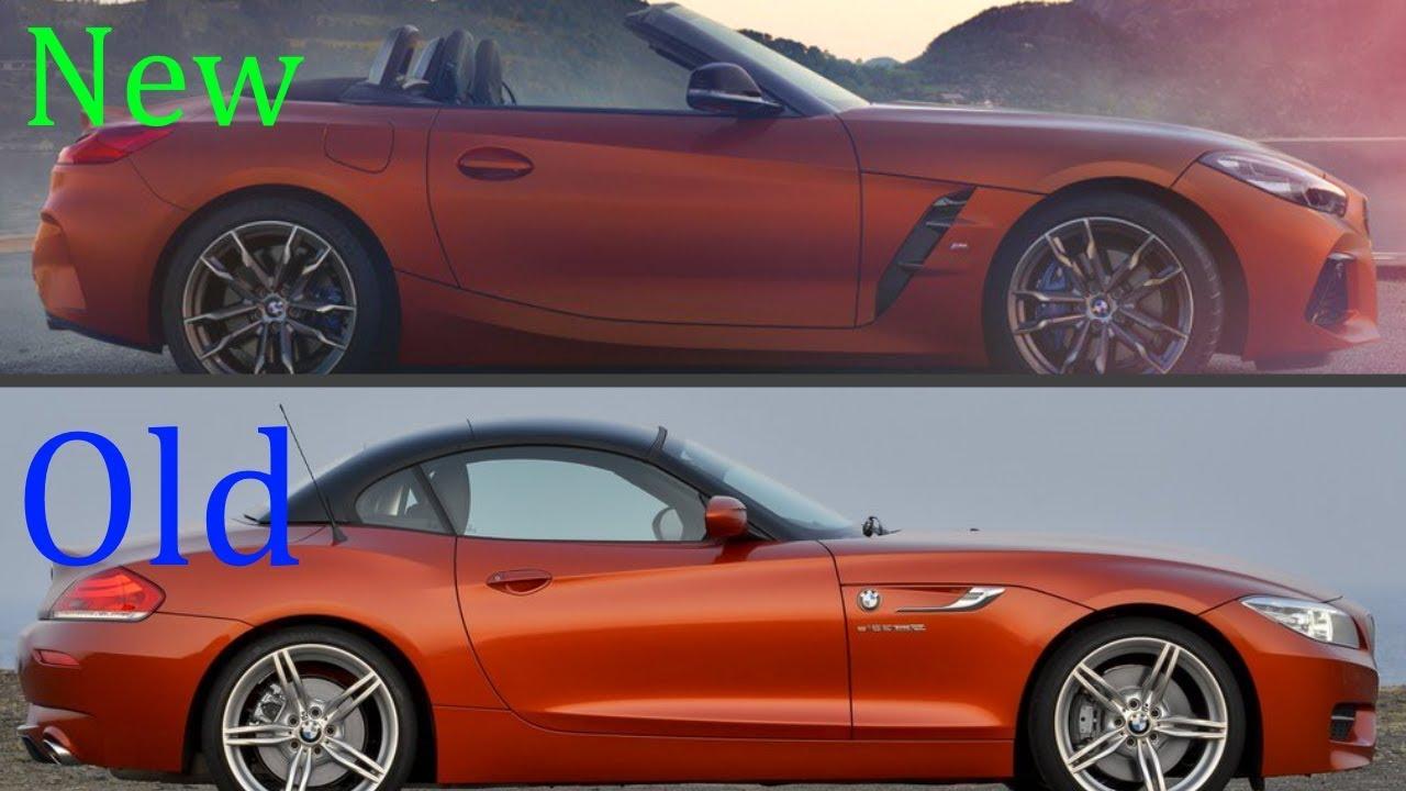 new 2019 bmw z4 roadster vs  old 2017 bmw z4 roadster