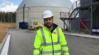 Bioabfallvergärungsanlage der RHE geht in den Probebetrieb