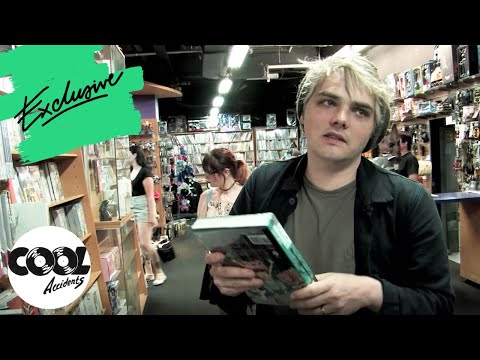 Comic Book Shopping With My Chemical Romance's Gerard Way | Cool Accidents
