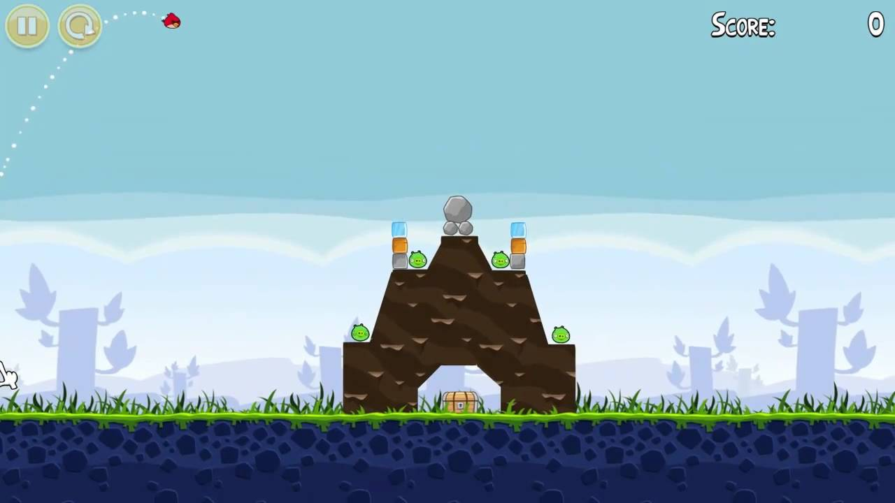 Lets play angry birds 01 lets go fly youtube lets play angry birds 01 lets go fly voltagebd Choice Image
