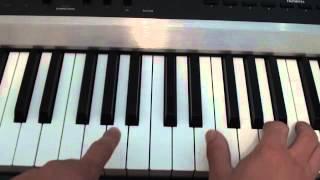 How to play Nightcall on piano - London Grammar / Kavinsky - Tutorial