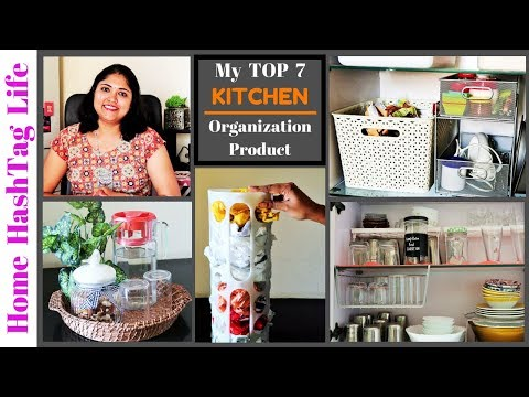 Top 7 Kitchen Organization Products and Storage Ideas! Home HashTag Life