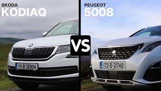 Skoda Kodiaq vs Peugeot 5008 | CarsIreland.ie