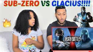 Sub-Zero VS Glacius | DEATH BATTLE! REACTION!!!!