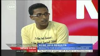 2015 KCSE candidate talks about his exam experience
