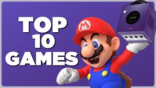 Top 10 BEST Gamecube Games!