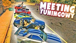 GTA ONLINE - MEETING TUNINGOWY!  XBOX ONE X