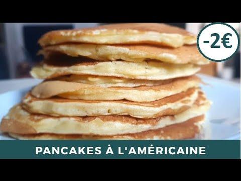 recette-de-pancakes-moelleux-à-l'américaine-|-recette-authentique-|-facile-et-rapide