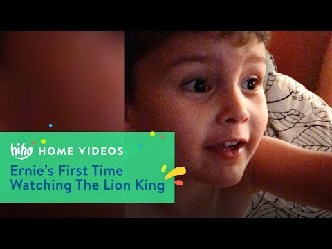 Ernie's First Time Watching The Lion King | Home Videos | HiHo Kids