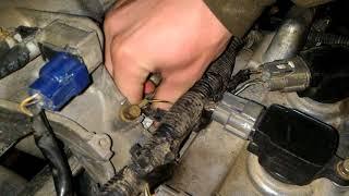 Nissan Almera n 16 троит двигатель qg18de (1,8)  неисправность катушки