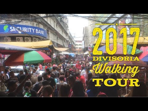 2017 Divisoria Walking and Food Tour Lucky Chinatown 168 Mall 999 Mall Divisoria Mall Manila