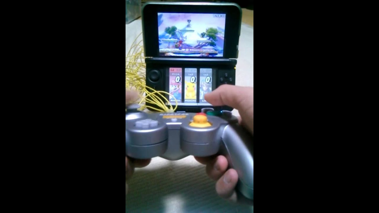 2DS and 3DS mod allows use of GameCube controller for input