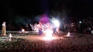 Праздник Ивана Купала на голубых озерах(6 июля на Голубых озерах состоялось театрализованное действие