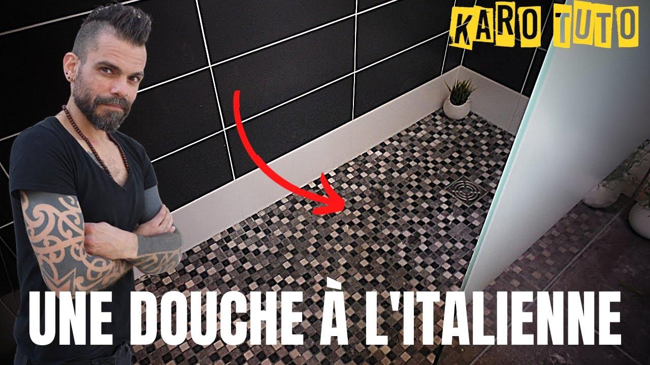 comment faire l 39 tanch it d 39 une douche l 39 italienne. Black Bedroom Furniture Sets. Home Design Ideas