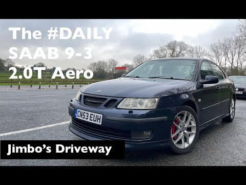 SAAB 9-3 2.0T Aero Review, mildly modified, is this my best daily ever? Jimbo's Driveway Episode 7