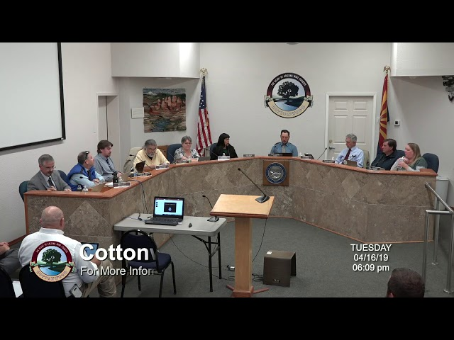 Cottonwood City Council Regular Meeting April 16 2019