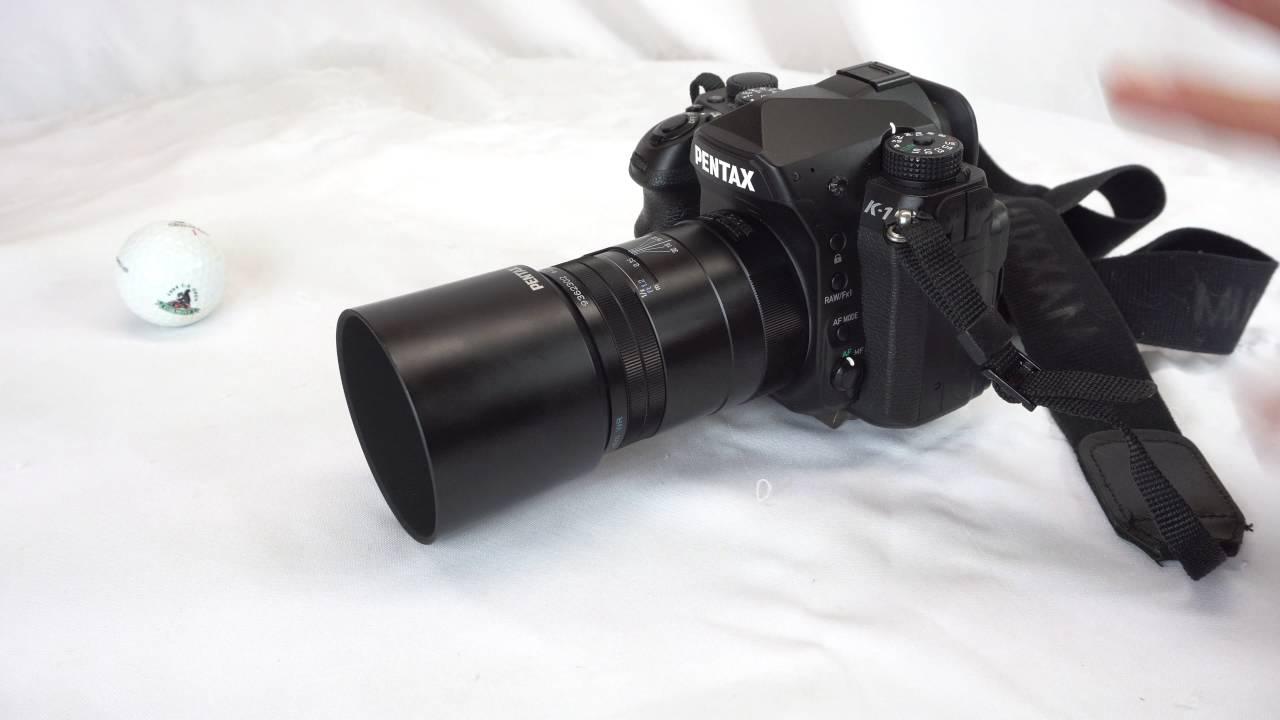 Pentax K-1 100mm f/2.8 macro DFA lens review - YouTube