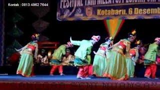 """Tari Tradisional Kalimantan Selatan """"Tari Maragap Humbayang"""". Sanggar Seni Nuansa Kota Banjarmasin."""