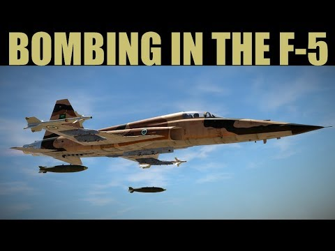 F-5E Tiger II: Learning Bombing | DCS 2.5