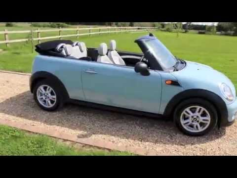 2017 Mini Convertible One Ice Blue You