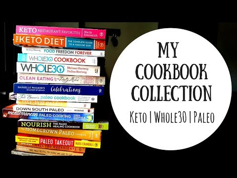 My Cookbook Collection   Paleo Whole30 Ketogenic Low Carb Book Reviews