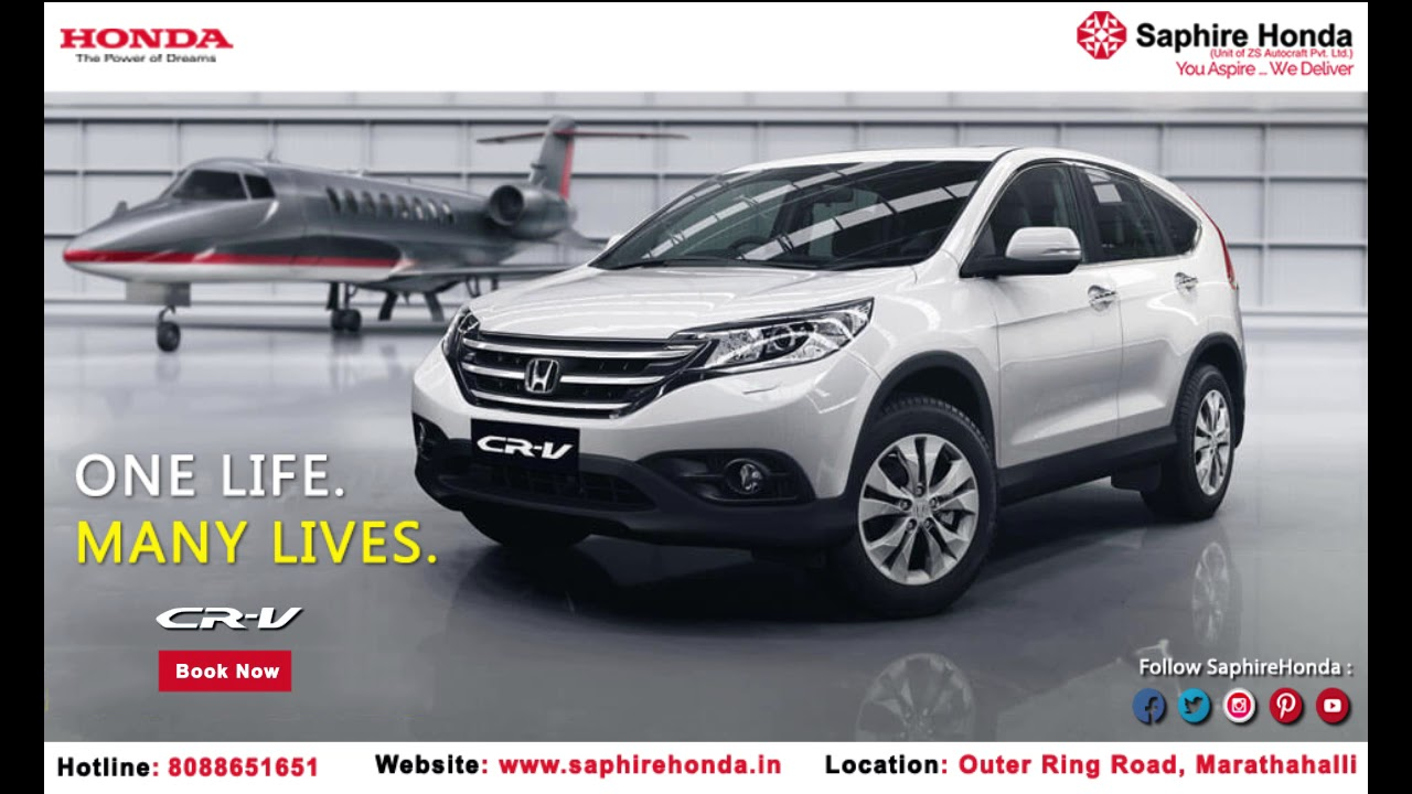 The All New Honda CR V At Saphire Cars