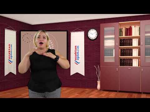 İşaret Dili Eğitiminden Kareler?