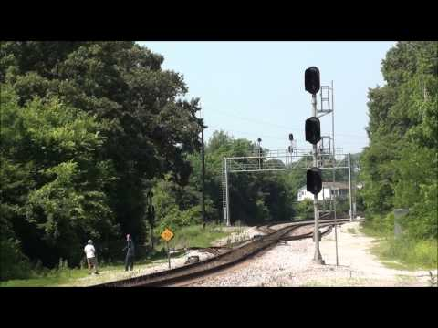Railfanning at McDaniel, TN and at Bridgeport & Stevenson, AL (June 5 & 6, 2015)