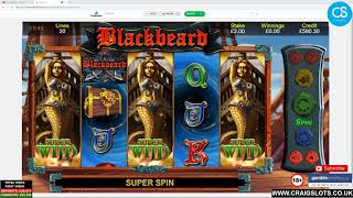 Monday Slot Carnage (Blackbeard, Magic Mirror Deluxe 2, Raging Rhino Megaways, Reactoonz & More)