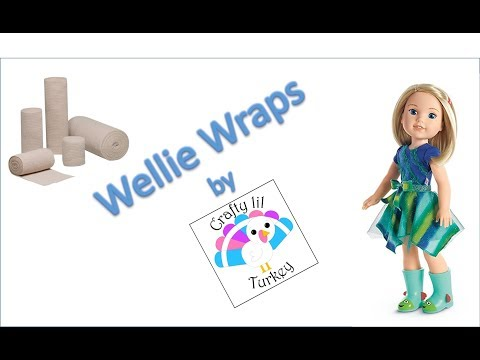 DIY Bandages For American Girl Wellie Wishers