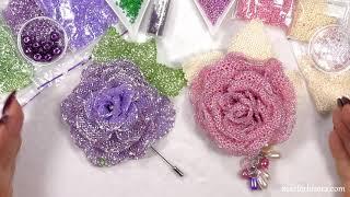 Розы из бисера. Анонс мастер-классов