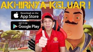 AKHIRNYA SI OM HADIR DI HP ! - HELLO NEIGHBOR MOBILE (ANDROID / IOS) INDONESIA