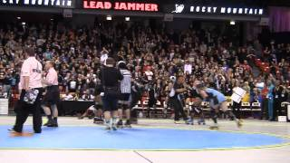Roller Derby WFTDA 2010 Championship Final Oly Rollers vs Rocky Mountain Roller Girls RMRG