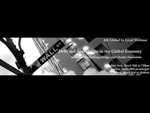 """Debt and Speculation in the Global Economy"" Webinar"