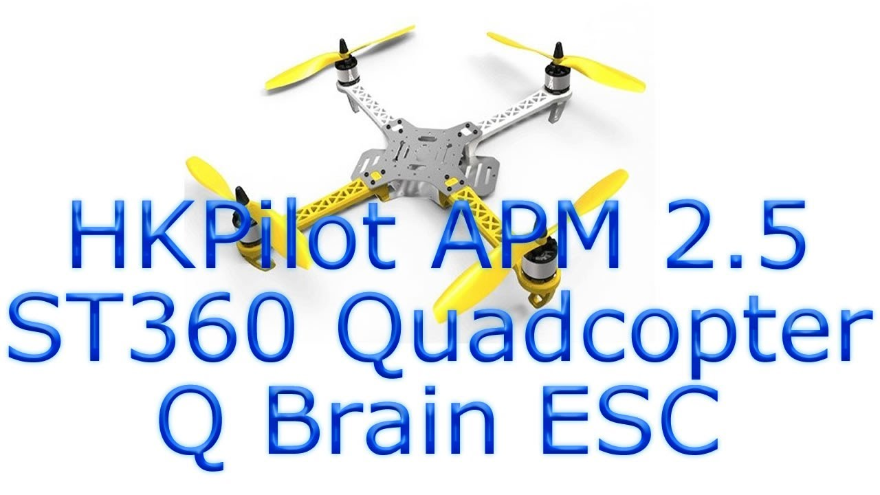 Hobbyking St360 Quadcopter With Hkpilot Mega Apm 2 5
