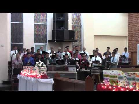 """""""BY FAITH""""  (with lyrics) sung by the UCCP Male Chorus"""