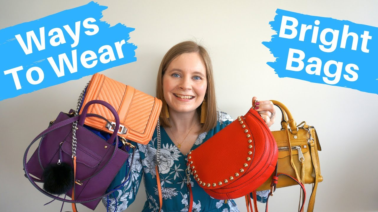 How To Wear Bright Bags (With Outfit Examples!)