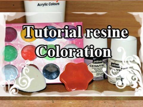 DIY : Resin Tuto / Resine Tutoriel N°4 : Coloration de la résine