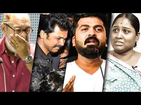 Celebrities Emotional Moment of 2018   Karthi, Simbu