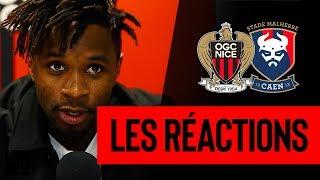 Nice 0-1 Caen : les réactions