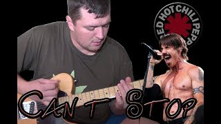 Can't Stop (Red Hot Chili Peppers Guitar & Bass cover) with Anthony Kiedis vocals