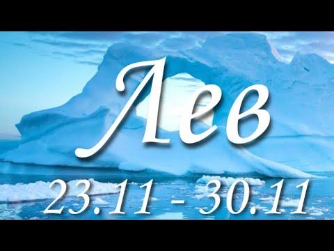 Прогноз на неделю с 23 по 30 ноября для представителей знака зодиака Лев